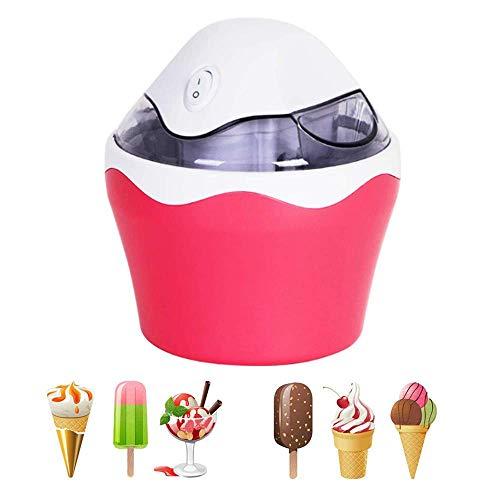 QWEAS Eiscreme-Hersteller, mit eingebautem Gefrierschrank, 500 ml Sorbet Sorbet Machen automatische Maschine, Icecream Makers Maschine für den Heim DIY