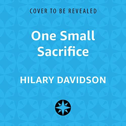 One Small Sacrifice audiobook cover art
