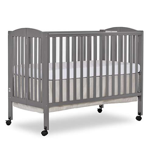 Dream On Me, Full Size 2-in-1 Folding Stationary Side Crib