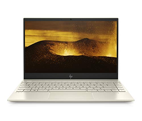 HP ENVY 13-aq1002ng (13,3 Zoll / Full HD Touch) Laptop (Intel Core i7-10510U, 16GB DDR4 RAM, 1TB SSD, Nvidia GeForce MX250 2GB GDDR5, Windows 10 Home) blassgold