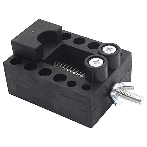Klinkamz Mini-Tischschraubstock mit Schraubstock für Uhren, Schmuck, Reparatur