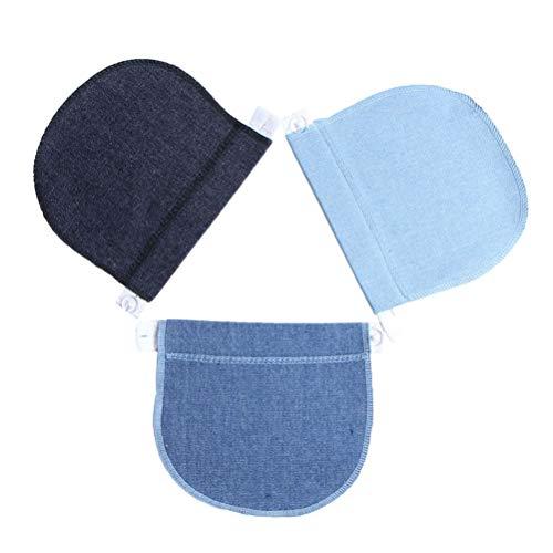 Healifty 3 Piezas Extensores de Cintura de Embarazo Alargador de