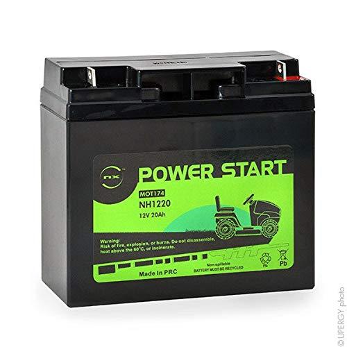 NX - Rasenmäher Batterie NH1220 / NH1218 12V 20Ah - MOT8608 ; NH1218 ; NH1220 ;
