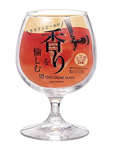 東洋佐々木ガラスビールグラスクラフトビヤー香り330ml32825HS-JAN-BEクリア
