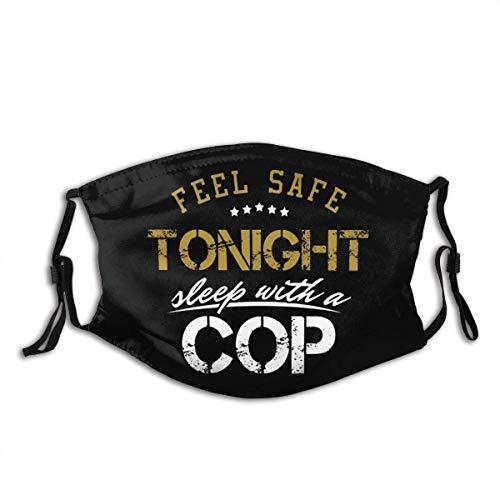 Fühlen Sie Sich sicher Heute Abend Cop winddichter Mundschutz mit austauschbarer Filter-Aktivkohle-Staubschutzhülle