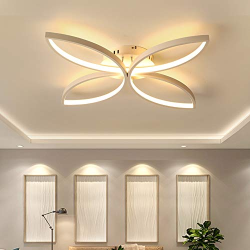 De enige goede kwaliteit Indoor Scandinavische stijl Woonkamer Moderne Minimalistische Aluminium Led Plafond Lamp Slaapkamer Creatieve Mode Creatieve Restaurant Verlichting Stepless Dimmen 58 * 58 * 10cm