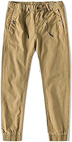 Dufjodi l'hiver, Le Japonais rétro Jeunes Hommes Pied Cheville Pantalons décontractés sacué Pantalon Les Pantalons,Le Kaki,Vingt - Huit