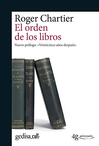 Orden de los libros,El (gedisa_cult.)