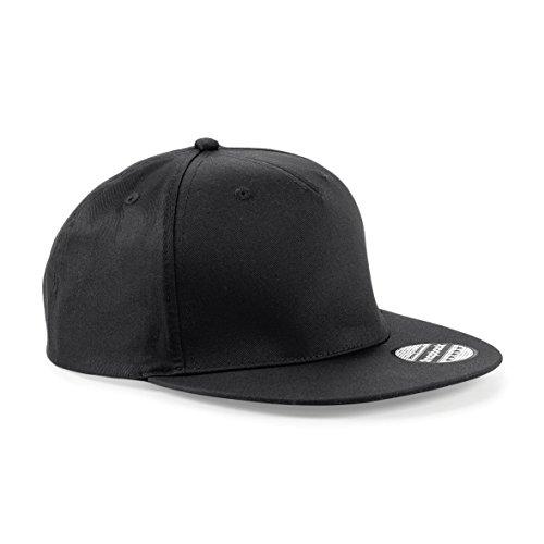 cappello visiera piatta CHEMAGLIETTE! Cappellino con Visiera Piatta Cotone Cappello Rapper Regolabile Beechfield B610