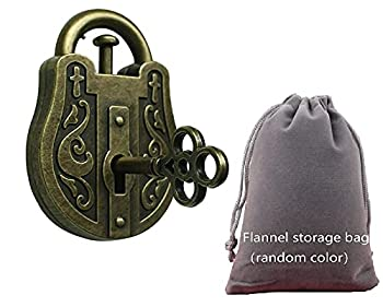 SHUYUE Lock and Unlocking Brain Teaser Puzzle Kids Lock Puzzle Classic Toy Cast Metal Disentanglement Puzzles