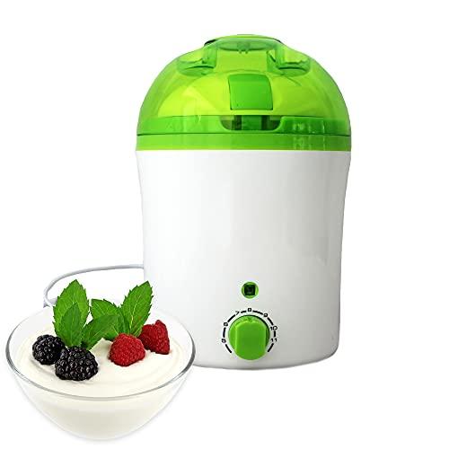 IQ-Vitality Joghurtbereiter mit akustischer Timerfunktion, elektrischer Joghurt Maker Joghurtmaschine