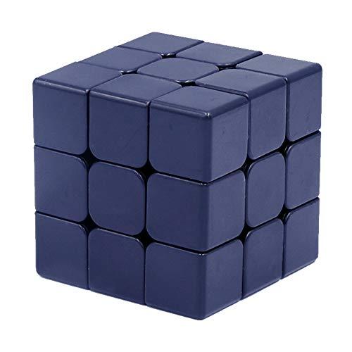 Amyove Zauberwürfel Magic Cube 3x3x3 Puzzlespiele Neo Cubo Magico Lernspielzeug für Kinder Weiß