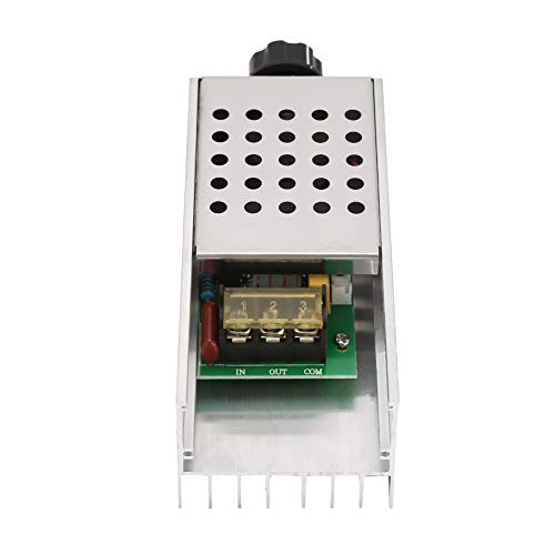 Regulador de control de velocidad del motor, controlador de voltaje, regulador de voltaje de 0~220 V para lámpara de filamento de alambre calefactor