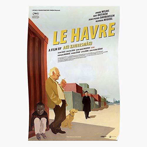 Generic Worker Port Gabon Retro Havre Movie Dock Cool Le Home Decor Wandkunst drucken Poster !