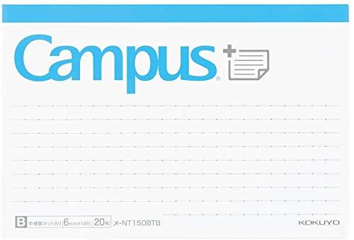 コクヨ キャンパス ふせん まとめがはかどるノートふせん ドットB罫 ボトムタイプ メ-NT150BTB 【× 2 冊 】