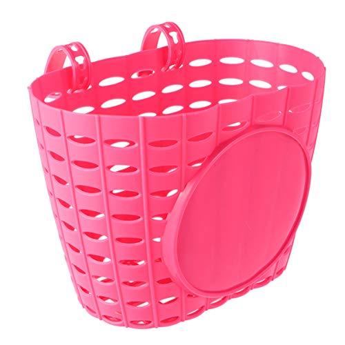 Homoyoyo - Cestino anteriore in plastica per bambini, ragazzi, ragazze, bicicletta
