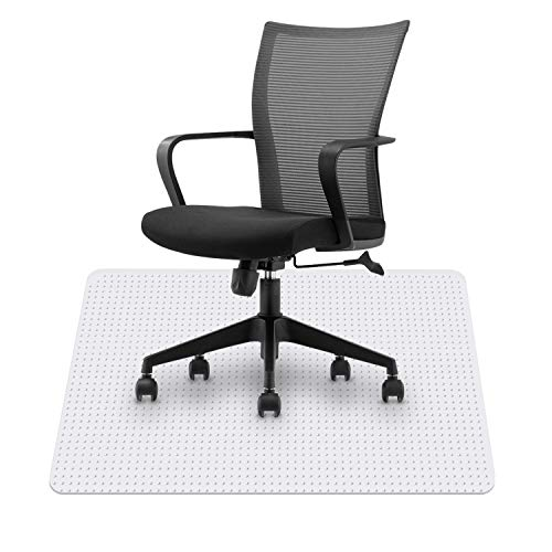 """HST Office Chair Mats for Carpeted Floors,Desk Chair Mat,for Low Pile Carpets,Protects Floors,36"""" x 48"""" for Computer Desk"""