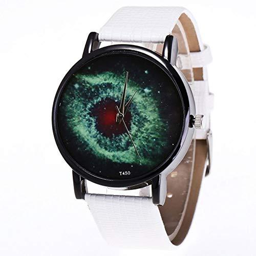 Cuero con reloj de cuarzo de cáscara negra Hombres y mujer Relojes Cuarzo WatchT450