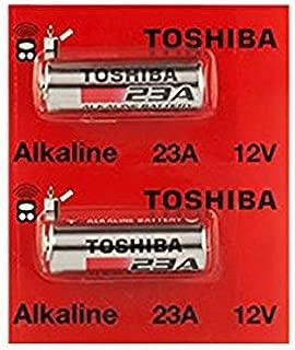 Toshiba Alkaline A23 GP23AE MN21 23GA 12 Volt Battery (2 Batteries)
