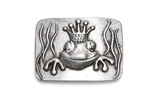 VaModa Gürtelschließe Wechselschließe Gürtelschnalle Buckle Modell 'KingFrog'