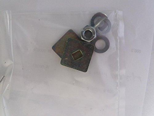 Kettler 94606697 Kettcar Verschraubungssatz 8858-13 Lenksäule mit Sicherungsscheiben