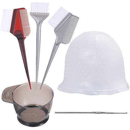 Codream Hair Coloring and Highlighting Tools Set, Hair Tinting Set 3pcs Hair Dye Brush & Color...