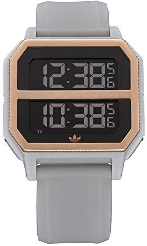 adidas Reloj Digital para Unisex Adulto de con Correa en Silicona Z16-3272-00