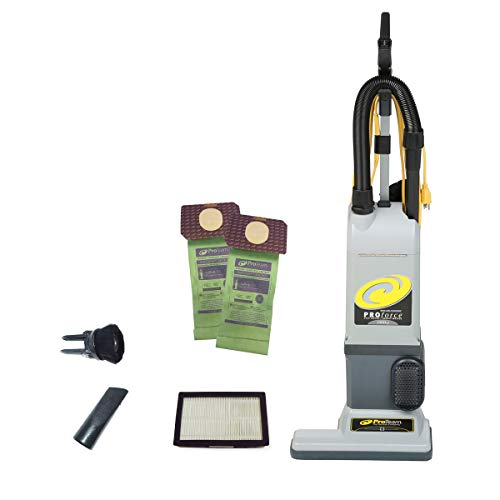 ProTeam ProForce 1500XP Bagged Upright Vacuum Cleaner with...