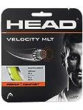 HEAD Unisex– Erwachsene Velocity MLT Set Tennis-Saite, Yellow, 17