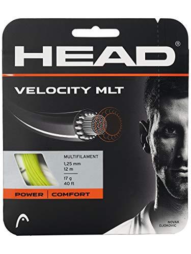 HEAD Velocity MLT - Juego de cuerdas de tenis (amarillo, 16)