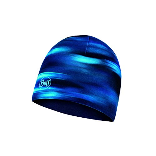Buff Shading Bonnet Reversible Microfibre Homme Bleu FR : Taille Unique (Taille Fabricant : Taille One sizeque)