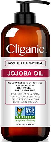 Cliganic Jojoba Oil...