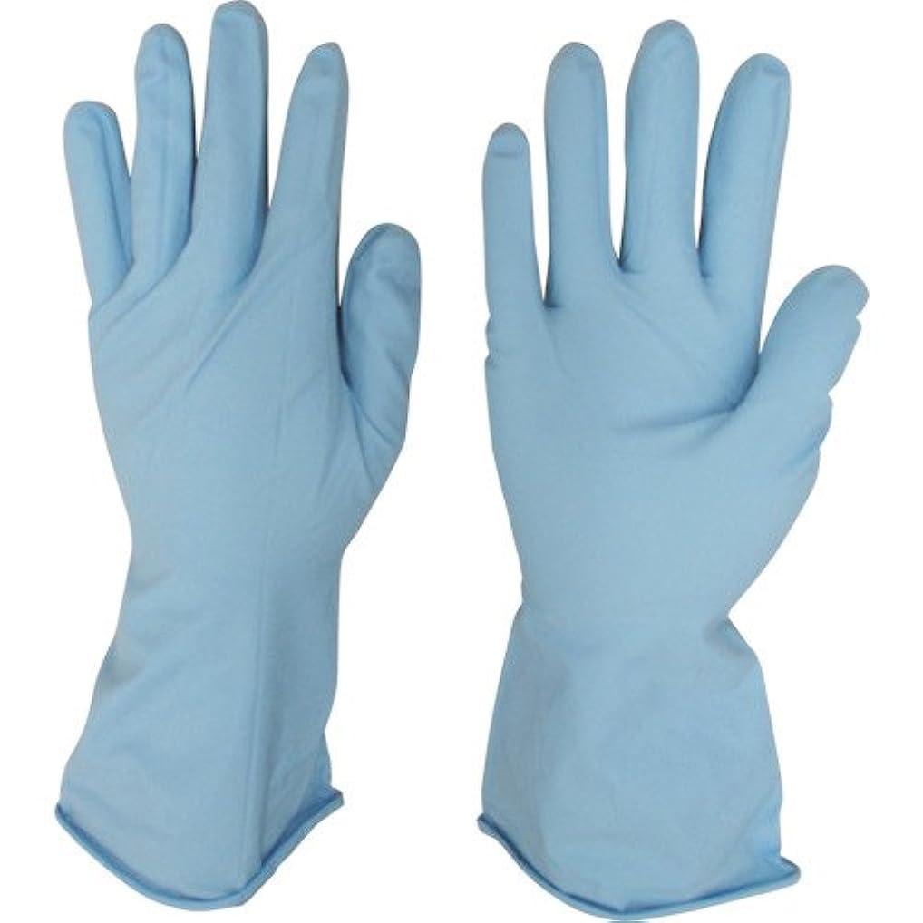 回想一時解雇する机宇都宮製作 作業用手袋 シンガーニトリル薄手手袋 パウダーフリー ブルー 10双入 S