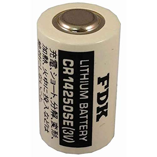 FDK CR14250SE 3V 1/2 AA Laser Lithium Cylindrical Battery Button Top USA SHIP