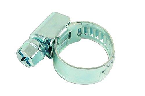 Connect Atelier consommables 36897 Clip de tuyau en acier doux 10 à 16 mm Lot de 5