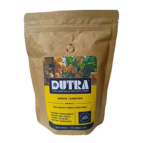 Café Dutra Microlote Torrado em Grãos Torra Média, Bourbon Amarelo 250g