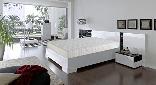 Dormio Ortopédico - Colchón de Eliocel, Blanco, 135 x 190 cm, altura 21 cm