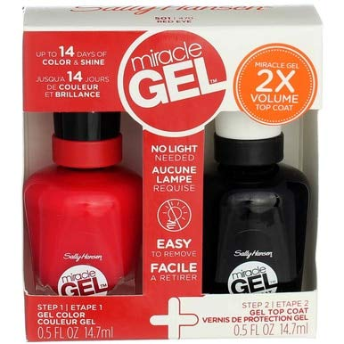Sally Hansen Miracle Gel 470 Red Eye 2er Pack 29 ml