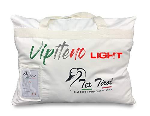 Tex family Piumino Oca VIPITENO Light 100 Piumino Oca Leggero Estivo Matrimoniale