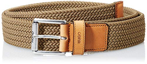 HUGO Gabi-W_Sz35 Cinturón, Beige (260), 105 cm para Hombre