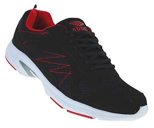 Bootsland 812 Turnschuhe Sneaker Sportschuhe Herren Übergröße, Schuhgröße:48