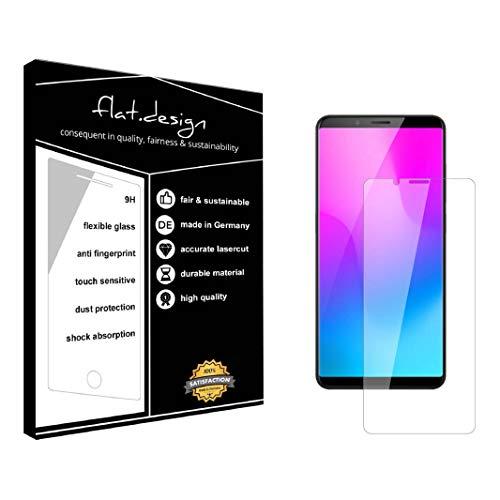 1x Bildschirm Schutz für Nubia Z18 Mini Screen Bildschirmschutz Schutzfolie kristallklar Flexible Folie, robust wie Glas. Qualität, Nachhaltigkeit und Fairness Made in Germany
