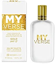 My Verse Version Gold Jay Z, 3.4 fl oz EDT Spray