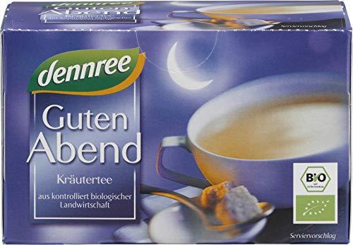 dennree Guten-Abend-Tee im Beutel (20 Beutel) - Bio