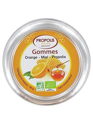 Propolis Redon Gommes Orange Miel Propolis 45 g