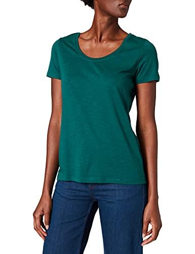 Street One Damen Gerda T-Shirt, ivy Green, 40
