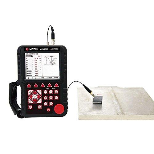Mitech MFD350B Digital Ultrasonic Flaw Detertor 0 ~ 6000mm Range 0.5 ~ 10 MHz