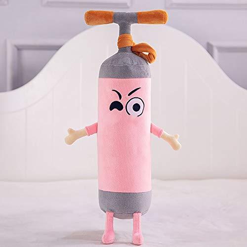 HGYLIOE Plüsch-Kissen mit Boxsack, kein Bein-Haar Nicht verblassen, weich und bequem, kann als Sofa zurück, Schlafzimmer Schlafkissen verwendet Werden (Color : B, Size : 110cm)