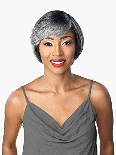 Sensationnel Empire 100% Human Hair Salt & Pepper Series Wig NYLA (2)