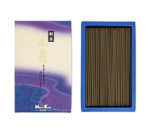nippon kodo 22042 Eiju Shinsei Herbes et Bois balsamique, Encens, Violet, 17 x 10 x 4 cm